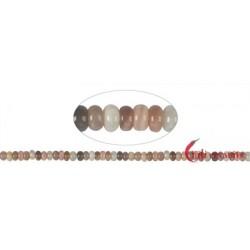 Strang Button Mondstein (bunt) 5 x 8 mm