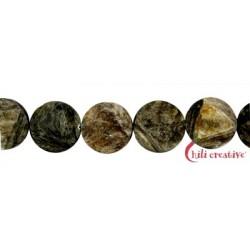 Strang Coin Muskovit-Glimmer (stab.) facettiert 20 mm