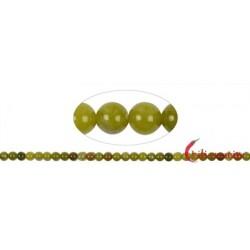 Strang Kugeln Serpentin (Liaoning) 6 mm