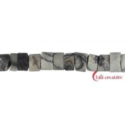 Strang Zylinder Marmor Picasso matt 3-4 x 5 mm