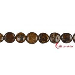 Strang Scheibe Bronzit (Ferro-Enstatit) 10-11 mm