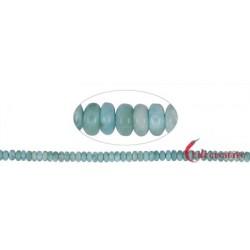 Strang Button Larimar 3-4 x 6-7 mm