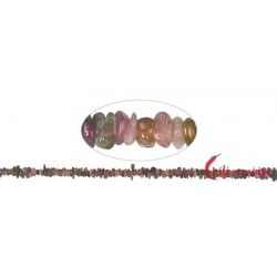 Strang Splitter Turmalin (bunt) 3 x 8 mm