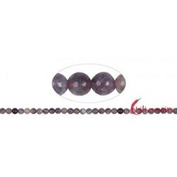 Strang Kugeln Turmalin (rosa) 6 mm