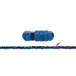 Strang Quader Hämatin blau (gefärbt)   1 x 2 x 2 mm