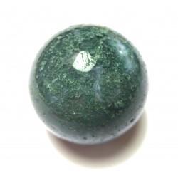 Kugel Moosachat (Chalcedon) 3 cm
