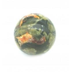 Kugel Rhyolith Augenstein 2 cm