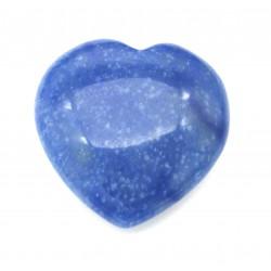 Herz Blauquarz 38 mm