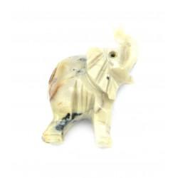 Elefant Speckstein 8 cm