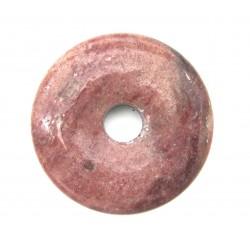 Donut Piemontit-Quarz 40 mm
