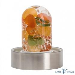 VitaJuwel ViA Modul Happiness (Nephrit-Jade, Carneol, Orangencalcit, Bergkristall)