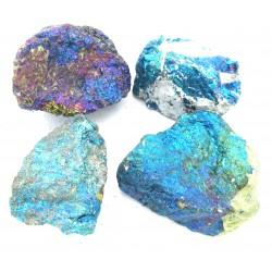 Chalcopyrit Buntkupfer (behandelt) roh 4-5 cm VE 1 Kg