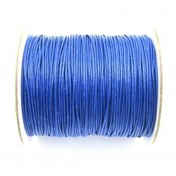 Baumwoll-Band auf Rolle Königsblau 1 mm VE 100 m