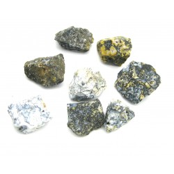 Chalcedon blau-grau-schwarz  Chips 2-2,5 cmVE 1 Kg