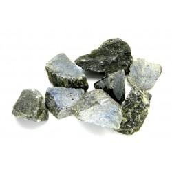 Labradorit grün (einseitig gesägt) Chips VE 1 Kg