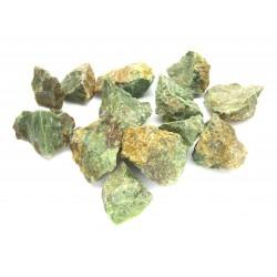 Chrysopras opak Chips 3-4 cm  VE 1 Kg