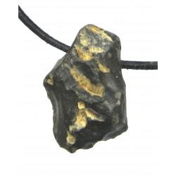 Flint Feuerstein Rohstein gebohrt 2,5-3,5 cm