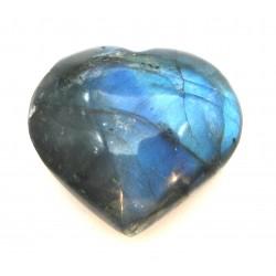 Herz Labradorit 30 mm