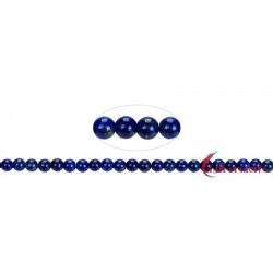 Strang Kugeln Lapis Lazuli A 4 mm