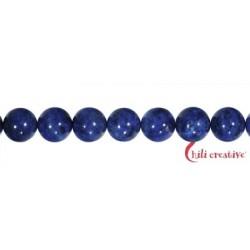 Strang Kugeln Lapis Lazuli A 10 mm