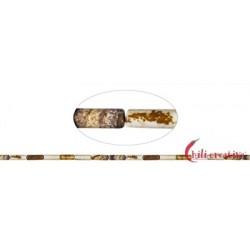 Strang Zylinder Marmor Landschafts- 13 x 4 mm