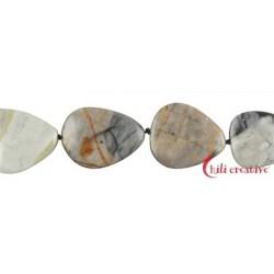 Strang Platten Marmor Picasso 28-35 x 22-28 mm