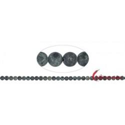 Strang Kugeln Rhyolith (Kabamba) matt 6 mm (38cm)