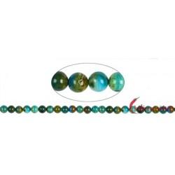 Strang Kugeln Opal Andenopal grün 9 mm