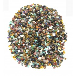 Mischung gebohrte Steinteile 0,5 cm - 2 cm VE 1 Kg