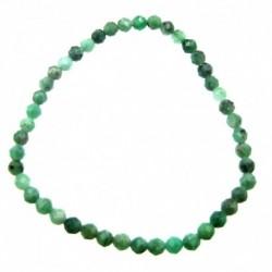 Kugel-Armband Smaragd facettiert 3-4 mm