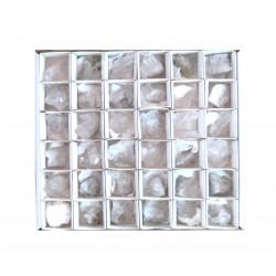 Bergkristall Stufen 3-4 cm VE 36 Stück