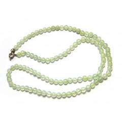 Kugel-Kette Serpentin grün 4/45