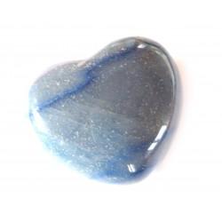 Herz Blauquarz 35 mm