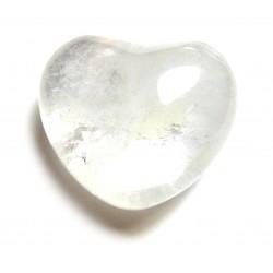 Herz Bergkristall 38 mm