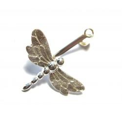 Donuthalter Libelle Silber