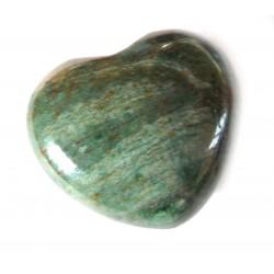 Herz Budstone (Grünschiefer) 45 mm bauchig