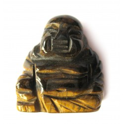 Buddha 3 cm Tigerauge