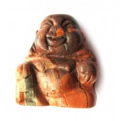 Buddha 3 cm Jaspis rot