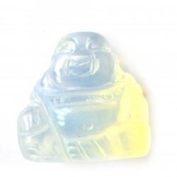Buddha 3 cm Opalglas (Kunstglas)