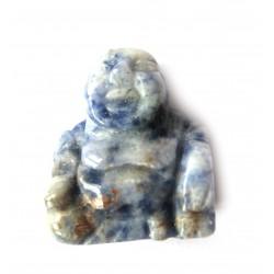 Buddha 2 cm Sodalith-Feldspat