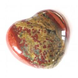 Herz Jaspis Brekzie 30 mm