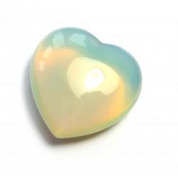 Herz Opalglas (Kunstglas) 25 mm