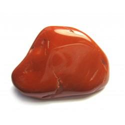 Trommelstein Jaspis rot 100 g