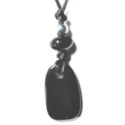 Kraftstein-Anhänger Obsidian