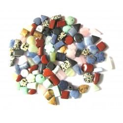 100 gemischte Halsreifteile 10-15 mm