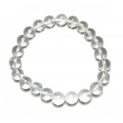 Kugel-Armband Bergkristall 8 mm