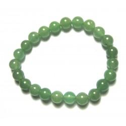 Kugel-Armband Aventurinquarz grün 8 mm