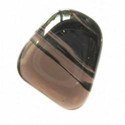 Trommelstein Obsidian Lamellen- 1 Stück