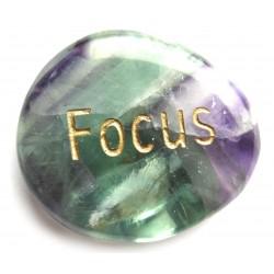 Wunscherfüllungs-Stein Focus Fluorit