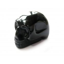 Kristallschädel Obsidian 4 cm
